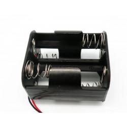 Portapilas para 4xR14 tipo C con cable  2529