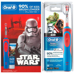 Kit Cepillo Eléctrico Oral B Kids D12513KSTARKIT