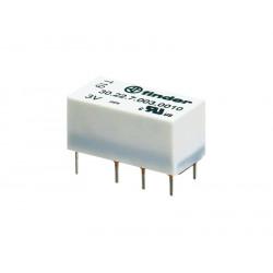 Relé subminiatura (DIL/R2) 12Vcc 2Cto. 2A