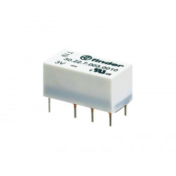 Relé subminiatura (DIL/R2) 24Vcc 2Cto. 2A