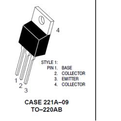 Transistores bipolares BJT 8A 150V 50W NPN. Mod. MJE15030