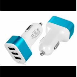 Cargador Coche USB 3 Puertos 3.1A. Mod. 51419