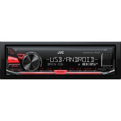 Autorradio RDS, Aux y USB JVC. Mod. KD-X141