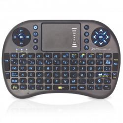 Mini Teclado Retroiluminado con Touchpad Wireless PHTALKKEYBOARDBL