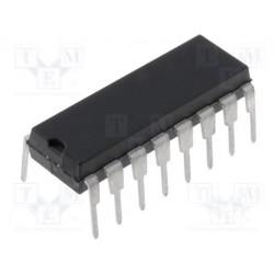 Circuito integrado digital divisor contador CMOS THT DIP16. Mod. CD4017BE