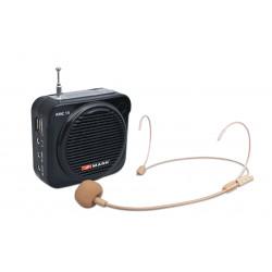 Amplificador personal ultra-portátil Mark. Mod. AMC 15