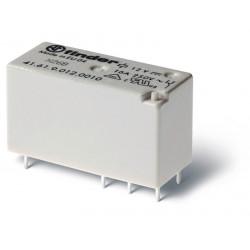 Mini-Relé de bajo perfil 12Vcc  2Cto. 8A
