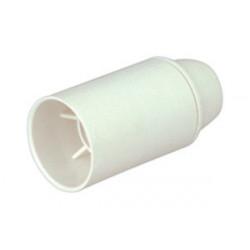 Portalámparas baquelita blanco E-14. Mod. 12.089/B