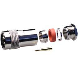 Conector N macho RG-213/RG-11/RG-8. Mod. 1430