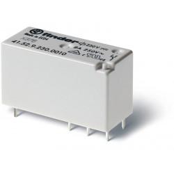 Mini-Relé de bajo perfil 230Vca 2Cto. 8A
