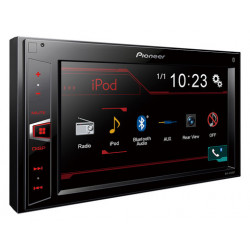"Pantalla táctil 6.2"" RDS, Aux, USB y salida video Pioneer. Mod. MVH-AV290BT"