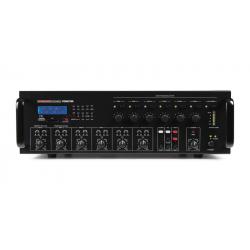 Amplificador 6 zonas 480W Fonestar. Mod. MPZ-6480RGU