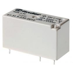 Mini-Relé de bajo perfil 230Vca 1Cto. 12A