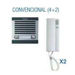 Kit portero citymax 2 lineas 6325 FERMAX. Mod. 6202