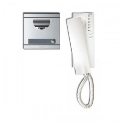 KIT portero A1 con placa y teléfono S7 Sistema 4+N Tegui. Mod. 375011