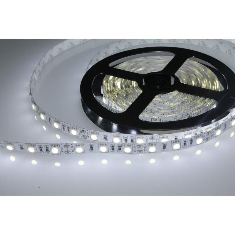 Tira de led flexible de 5 metros smd 5050 60 led m 6000 k - Tira led 5 metros ...