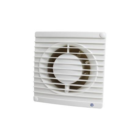 Extractor para eliminación de humos, ventilación de malos olores y humedades. Con temporizador. Mod. 71.505/T