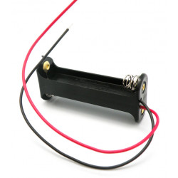 Portapilas para 2xR6, Cable. Mod. 2364