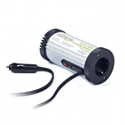 ADAPTADOR E INVERSOR ENERGENIE 150W ALUMINIO, NEGRO. MOD. EG-PWC-031