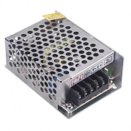Fuente alimentación metálica 12V 3A 36W Basic. AC6121