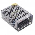 Fuente alimentación metálica 12V 3A 36W Basic. 410036