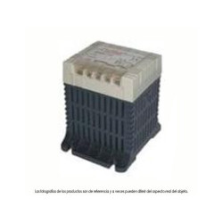 Transformador Polylux Pri: 230 - 400 V sec: 24 - 48 V 63VA. Mod. PC63