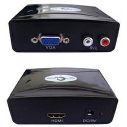 Conversor VGA + AUDIO a HDMI. Mod. 04HDMI