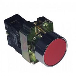 Pulsador retorno rojo NO. Mod. XB2-BA31