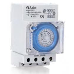 Interruptor horario analógico 230V AC. Mod. ASHU1001
