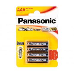 Pila Alcalina Panasonic LR03, AAA