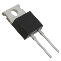 Diodo rectificador schottky de baja pérdida de voltaje de 600V y 15A