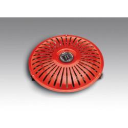 Brasero 2 resistencias termostato de seguridad HJM. Mod. 106