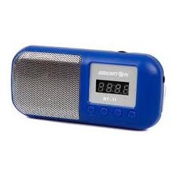 Radio portátil recargable Brigmton. Mod. BT-11