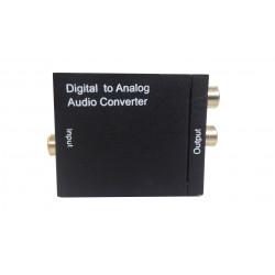 Convertidor de audio digital a analógico. Mod. 6120