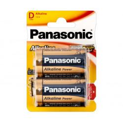 Pila Alcalina Panasonic LR20, Mono D