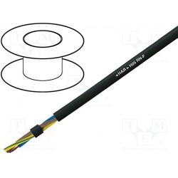 Manguera Cu 4x0,75mm2 goma negro 300/500V Clase:5. Mod. H05RN-F-4G0.75