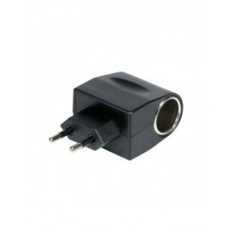 Naranja extensión Pro Elec 0138-or Socket 1way Caucho