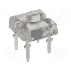 LED Super Flux 7,62x7,62mm blanco caliente 3000-4000mcd 60°. Mod. OSWC7161D