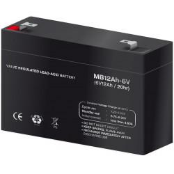 Batería plomo 6,0V/12Ah