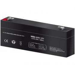 Batería plomo 12,0V/2,2Ah