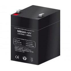Batería plomo 12,0V/5,0Ah