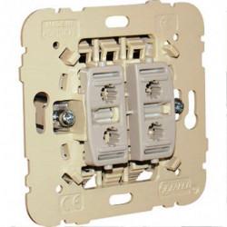 Doble Interruptor Mec 21 unipolar EFAPEL. Mod. 21061