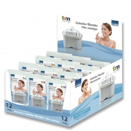 Filtros Jarra purificadora Diplay 12uds. Mod. TMFIL012