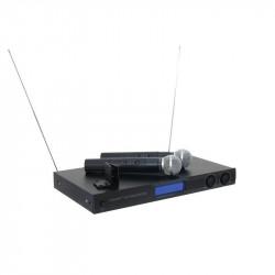 Sistema de micrófono inalámbrico OMNITRONIC. Mod. VHF-450