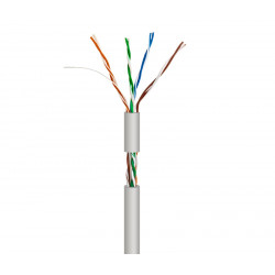 Cable para datos UTP Cat.5e rígido interior. Mod. WIR9041