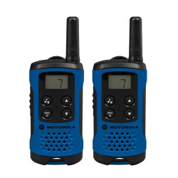Motorola T41 walkie talkies azules de 4km