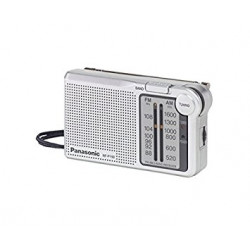 Radio portatil analógica Panasonic. Mod. RF-P150D