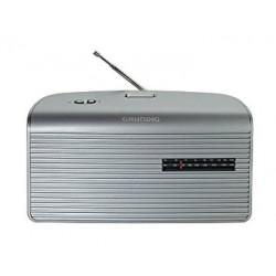 Grundig Music 60 - Radio (Personal, Analógico, AM, FM) SILVER