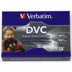 Cassette De Video Digital Verbatim 60 Min. Mod. DVC