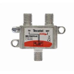 Mezclador TV-SAT SERIE CLASS A. Mod. MIX-TVSATCLA